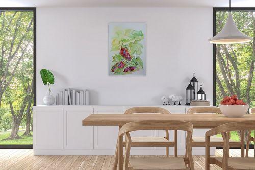 תמונה לפינת אוכל - רינה יניב - ענבים 2 - מק''ט: 327842