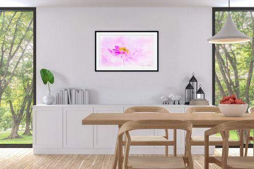תמונה לפינת אוכל - נעמי עיצובים - פרח ברוח - מק''ט: 329540