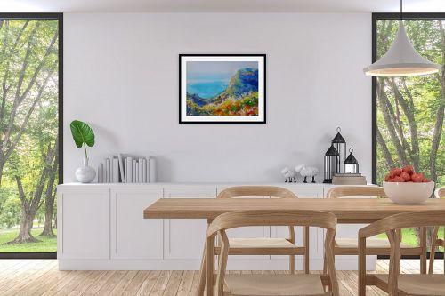 תמונה לפינת אוכל - נטליה ברברניק - נוף ליד הים - מק''ט: 330515