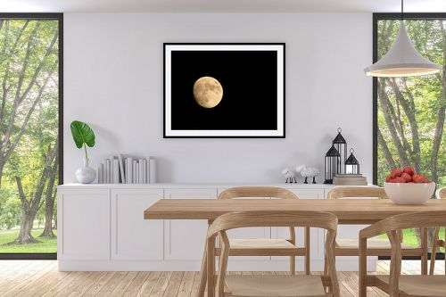 תמונה לפינת אוכל - משה יפה - ירח יזרעאלי - מק''ט: 3792