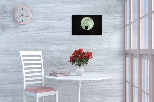 תמונה לפינת אוכל - אלי נגר - ירח - מק''ט: 177879