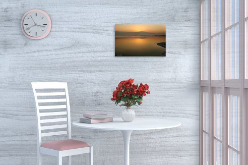 תמונה לפינת אוכל - איזבלה אלקבץ - זריחה בים המלח - מק''ט: 268926