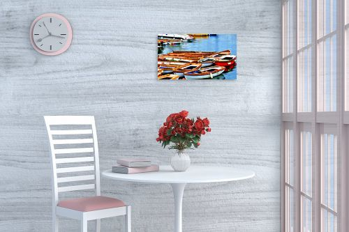 תמונה לפינת אוכל - אורית גפני - נמל נאפולי - מק''ט: 281857