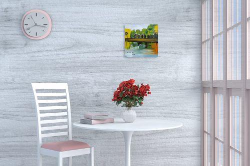 תמונה לפינת אוכל - ורד אופיר - מפלים בטבע - מק''ט: 283261