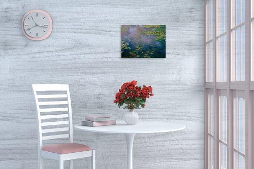 תמונה לפינת אוכל - קלוד מונה - חבצלות מים water lillies - מק''ט: 305969
