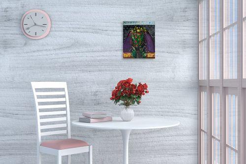 תמונה לפינת אוכל - אסתר חן-ברזילי - שער הפרחים - מק''ט: 306281
