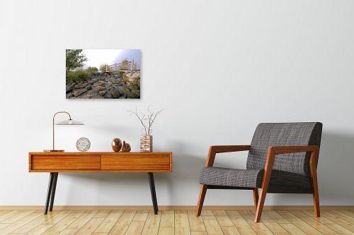 תמונה לחדרי המתנה - קובי פרידמן - גשר קטן - מק''ט: 107350