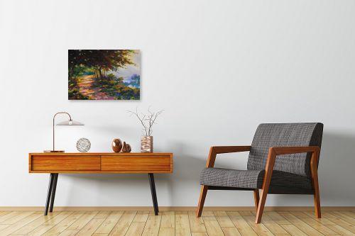 תמונה לחדרי המתנה - נטליה ברברניק - יער  - מק''ט: 122042