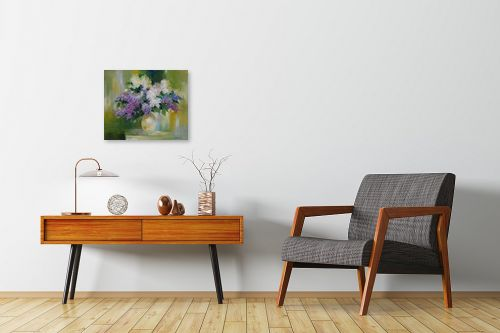תמונה לחדרי המתנה - נטליה ברברניק - זר באגרטל - מק''ט: 122160