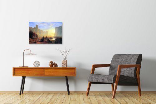 תמונה לחדרי המתנה - אלברט בירשטאדט - Albert Bierstadt 071 - מק''ט: 124681