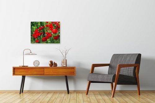 תמונה לחדרי המתנה - ארי בלטינשטר - פרגים 2 - מק''ט: 128050