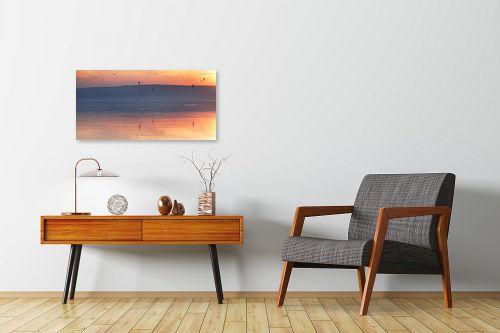 תמונה לחדרי המתנה - איה אפשטיין - Sunset joy - מק''ט: 143191