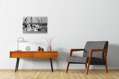 תמונה לחדרי המתנה - דוד לסלו סקלי - תל אביב 1939 תמונת מחזור - מק''ט: 143383