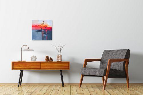 תמונה לחדרי המתנה - בן רוטמן - נמל תל אביב - מק''ט: 144807