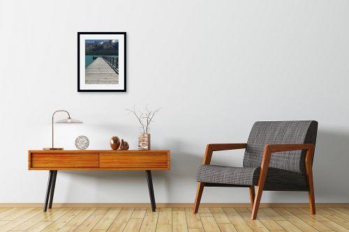 תמונה לחדרי המתנה - אסי סיני - גשר צר - מק''ט: 145214