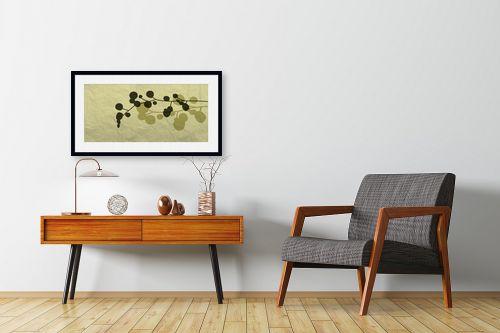 תמונה לחדרי המתנה - נעמי עיצובים - כותנה - מק''ט: 157645