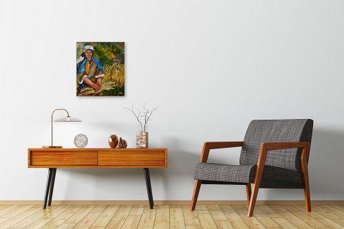 תמונה לחדרי המתנה - שולי חיימזון - רגע של מנוחה - מק''ט: 158283