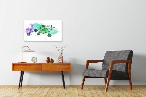 תמונה לחדרי המתנה - נעמי עיצובים - צפור בצבע - מק''ט: 160273