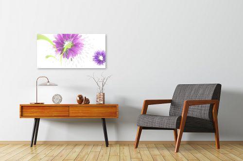 תמונה לחדרי המתנה - נעמי עיצובים - פרחי טיפות - מק''ט: 161549