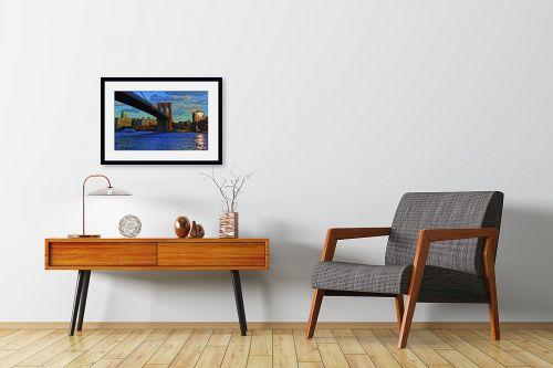 תמונה לחדרי המתנה - עידן גיל - גשר ברוקלין - מק''ט: 16197
