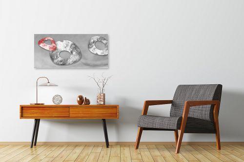 תמונה לחדרי המתנה - נעמי עיצובים - אבן אודם - מק''ט: 164839
