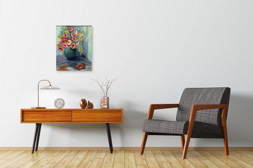 תמונה לחדרי המתנה - רינה יניב - סידור פרחים - מק''ט: 169768