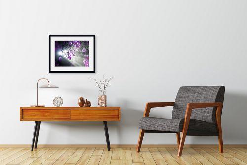 תמונה לחדרי המתנה - ארי בלטינשטר - ביער הסחלבים 03 - מק''ט: 171625