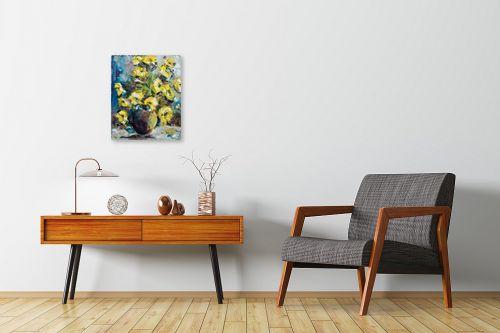 תמונה לחדרי המתנה - שולי חיימזון - פרחים - מק''ט: 174947