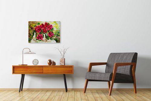 תמונה לחדרי המתנה - שולי חיימזון - פרחים - מק''ט: 180877