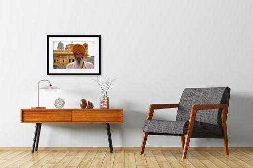 תמונה לחדרי המתנה - ענת שיוביץ - עולה רגל - מק''ט: 184418