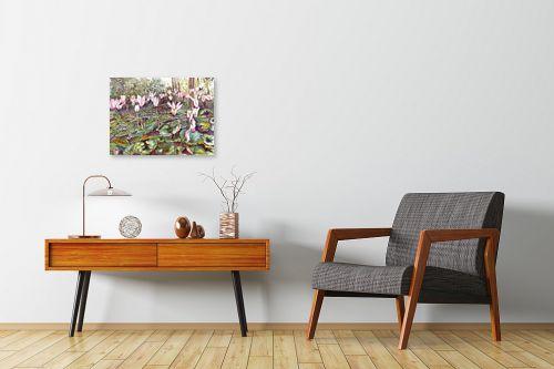 תמונה לחדרי המתנה - חיה וייט - רקפות פראיות - מק''ט: 213167