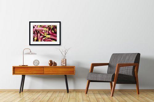 תמונה לחדרי המתנה - ויויאן נתן - חצילים רטובים - מק''ט: 226663