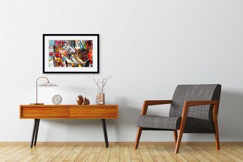 תמונה לחדרי המתנה - בן רוטמן - בלט מודרני - מק''ט: 228321