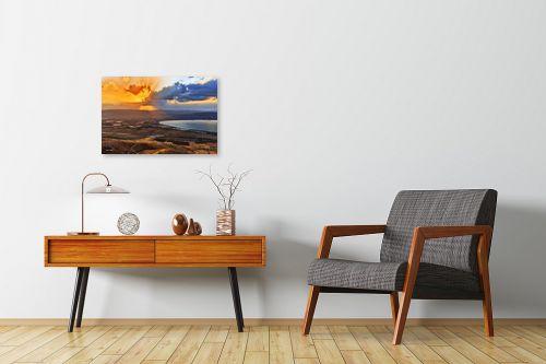 תמונה לחדרי המתנה - מיכאל שמידט - מעשה הבריאה - מק''ט: 230350