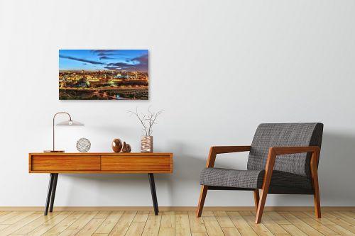 תמונה לחדרי המתנה - מיכאל שמידט - ירושלים בזהב - מק''ט: 236410