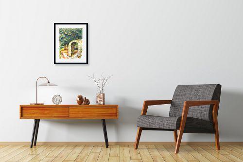 תמונה לחדרי המתנה - חיה וייט - עץ תאנה עתיק - מק''ט: 261370