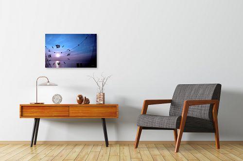 תמונה לחדרי המתנה - אורית גפני - זמן ברשת - מק''ט: 270785