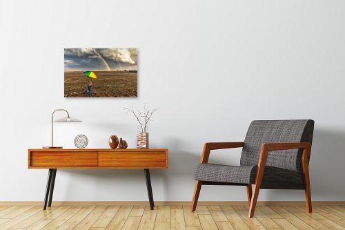 תמונה לחדרי המתנה - מיכאל שמידט - צבעי הקשת... - מק''ט: 273546