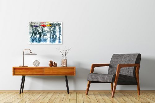 תמונה לחדרי המתנה - בן רוטמן - כשאפור, תמיד יש גם צבע - מק''ט: 274678