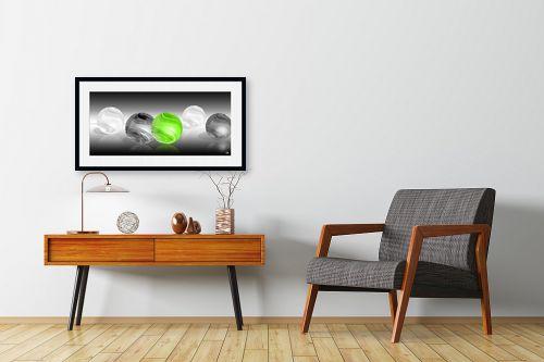 תמונה לחדרי המתנה - ויקטוריה רייגירה - הכדור הירוק - מק''ט: 276529