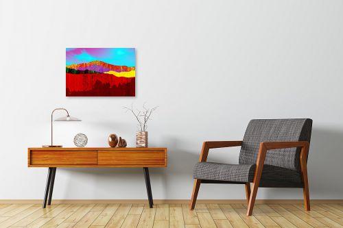 תמונה לחדרי המתנה - רוזה לשצ'ינסקי - נוף הרים 2 - מק''ט: 285118