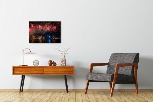 תמונה לחדרי המתנה - טניה קלימנקו - השנה הסינית החדשה - מק''ט: 286363