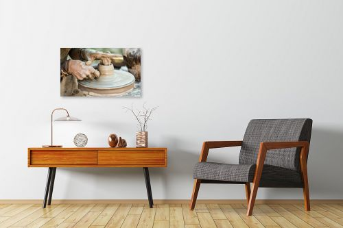 תמונה לחדרי המתנה - טניה קלימנקו - עבודת הקדר - מק''ט: 289627