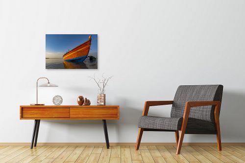 תמונה לחדרי המתנה - שי וייס - סירת דייג  - מק''ט: 294541