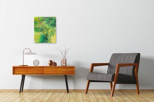 תמונה לחדרי המתנה - רינה יניב - צמחים בגינה - מק''ט: 296489