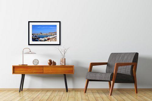 תמונה לחדרי המתנה - ענת שיוביץ - מים שקטים - מק''ט: 300615