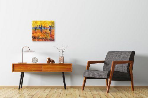 תמונה לחדרי המתנה - בן רוטמן - כמו צמח בר,,, - מק''ט: 302297