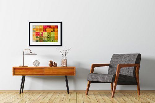 תמונה לחדרי המתנה - גורדון ארט - סלסלת פירות קיץ - מק''ט: 308119