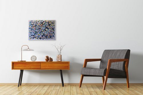תמונה לחדרי המתנה - חיים מחט - מערבולת צבעים - מק''ט: 308123