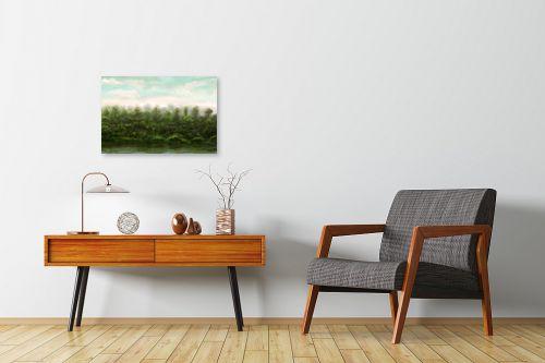 תמונה לחדרי המתנה - אורי רדלר - גווני נחל - מק''ט: 310916